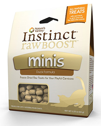 Instinct Raw Boost Minis Cat Treats