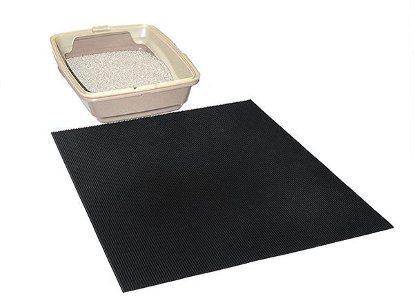 rubber tire recycled cat litter mat