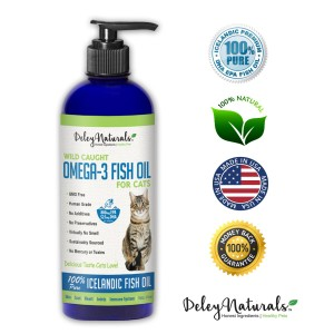 cat omega 3 fish oil supplement