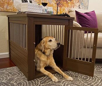 Eco-flex eco-friendly dog crate furniture