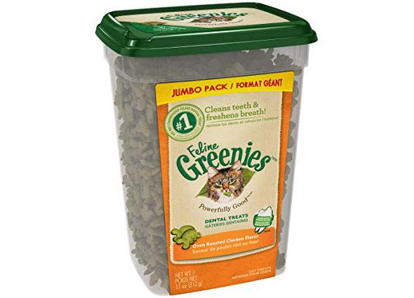 Feline Greenies, cat treats, dental treats, review